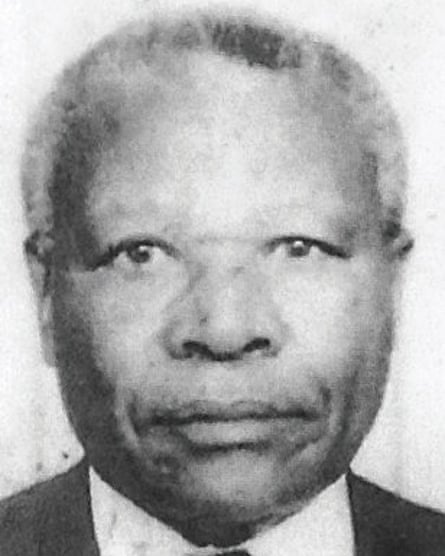 An undated picture provided by Interpol of Félicien Kabuga.