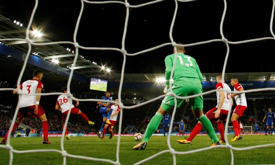 Riyad Mahrez fires in Leicester's equaliser against West Brom with his right foot having earlier missed a far easier chance to score with his favoured left.