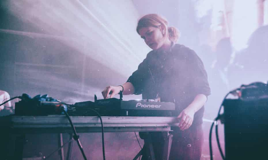'It seems to make people comfortable in their skin' ... Inês Coutinho, aka Violet, on the power of breakbeats.