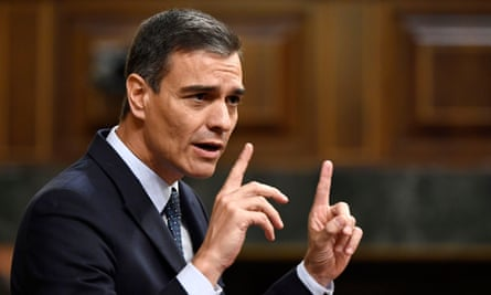 Pedro Sánchez failed to secure the 176 votes needed to be confirmed as PM.