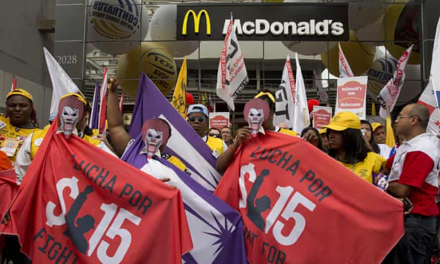 Brazil McDonald's protest