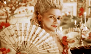 True colours: Kirsten Dunst as Marie Antoinette, the  last French queen, in the 2006 biopic.