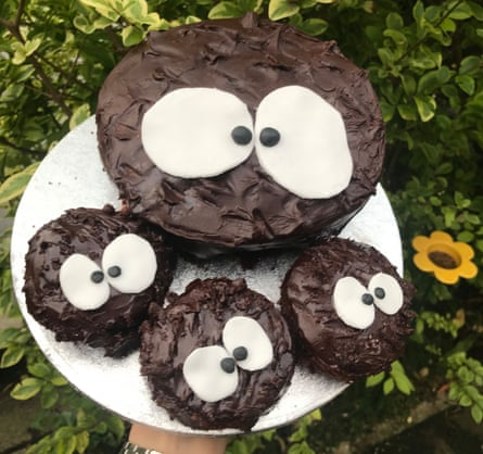 Eye sore: soot sprites inspired by My Neighbour Totoro
