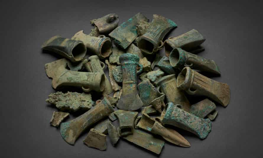 The Havering hoard is the third largest hoard unearthed in the UK.