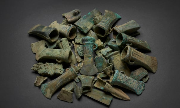 'Havering hoard' of bronze age objects to go on show in London | London | The Guardian