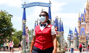 Walt Disney World, along with the company's other US theme parks, has reopened, with the disclaimer that tourists assume all risks of contracting Covid-19.