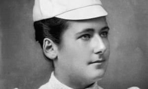 Lottie Dod: at 15, she was the youngest person to win a Wimbledon singels title, in 1887