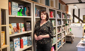 Julia Chesterman, owner of the Book Nook bookshop, which has shut due to the coronavirus lockdown.