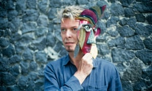David Bowie at the Frida Kahlo museum in Mexico