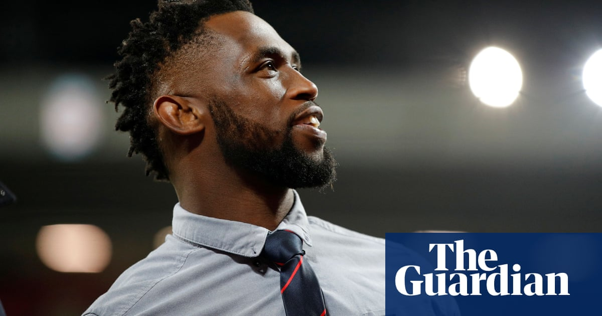 Siya Kolisi's inspiring example wins deserved acclaim from rugby scribes | Robert Kitson