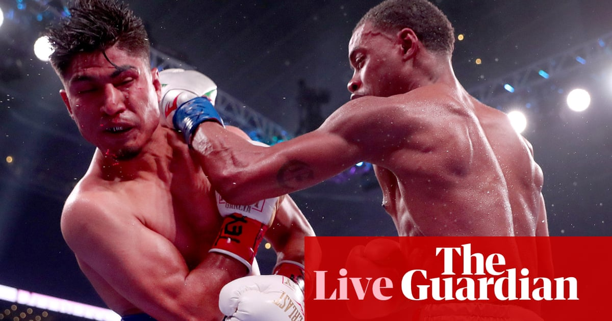 Errol Spence Jr retains title with whitewash of Mikey Garcia