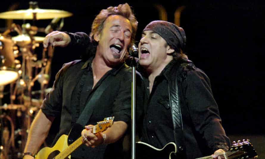 Bruce Springsteen and Stevie Van Zandt