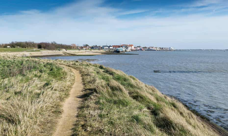 The town of Burnham-on Crouch-on the banks of the River Crouch in Essex, UK