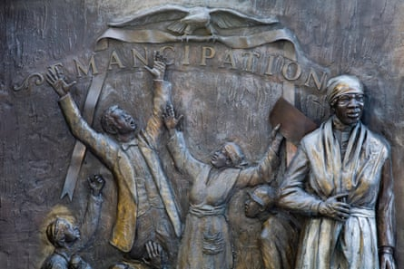 African American History Monument by Ed Dwight, State Capitol Grounds, Columbia, South Carolina.