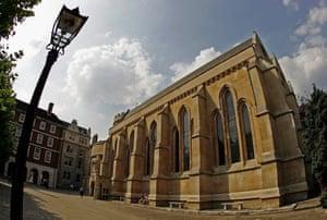 Temple church, London.