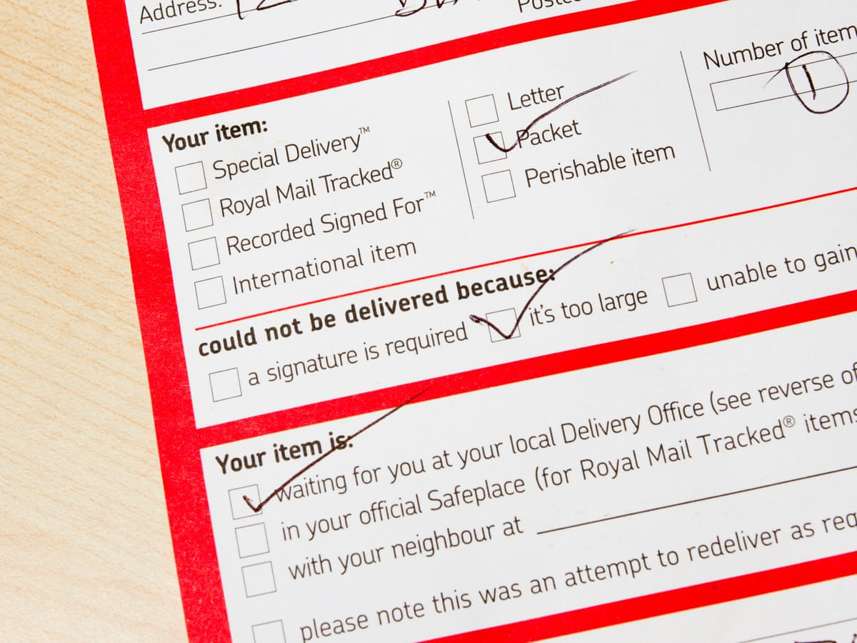 What really happens when Royal Mail fails to deliver   Money ...