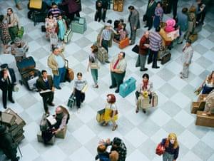 Crowd #7 (Bob Hope Airport), 2013.