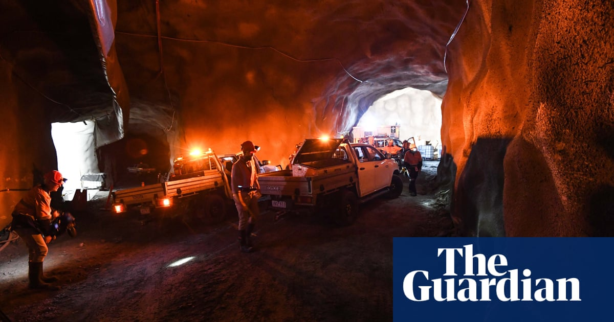 'Waiting for a ghost': the search for dark matter 1km under an Australian town