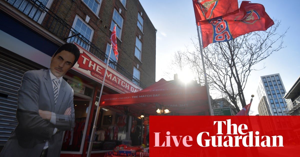 Arsenal v Everton: Premier League – live! - the guardian