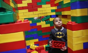 Lego says revenue soared by at least 10% in all regions.