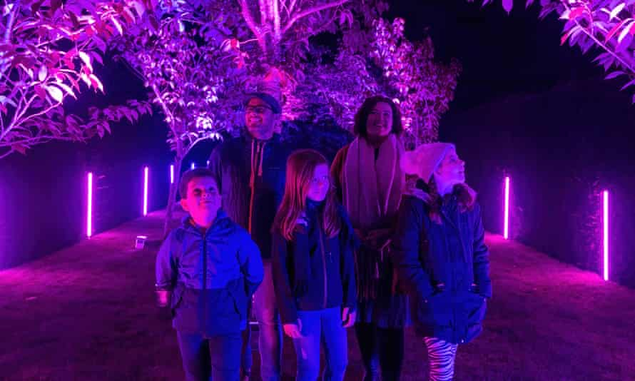 Purple reign: Land of Light at Longleat