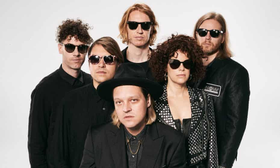'We may be the greatest band of all time!' ... Arcade Fire.