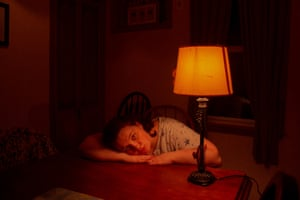 My Mother's DaughterI set this shot up in the dining room of my childhood home wearing my Mom's nightgown and posing next to her lamp. I wanted to capture the mood of the suburban lull. I've always hoped that my narratives would comfort those growing up lonely or unaccounted for.