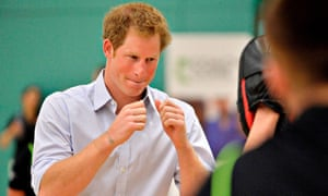 """Boxing was a lifeline for Prince Harry as he suffered """"total chaos"""" in dealing with the death of his mother Princess Diana."""