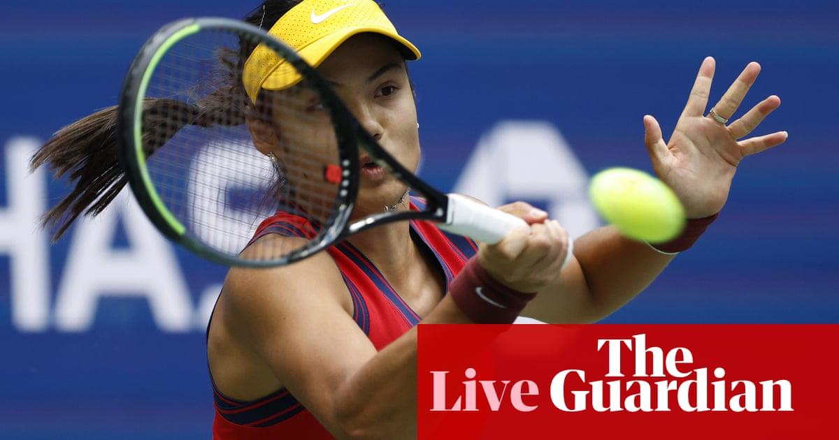 Emma Raducanu v Leylah Annie Fernandez: US Open women's final – live!
