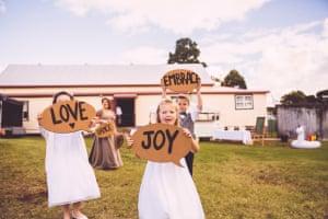 Beth and Tanya's wedding