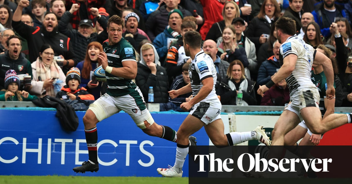 Brilliant Liebenberg sinks Sale to maintain Leicester's perfect record