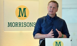 David Potts, the CEO of Morrisons