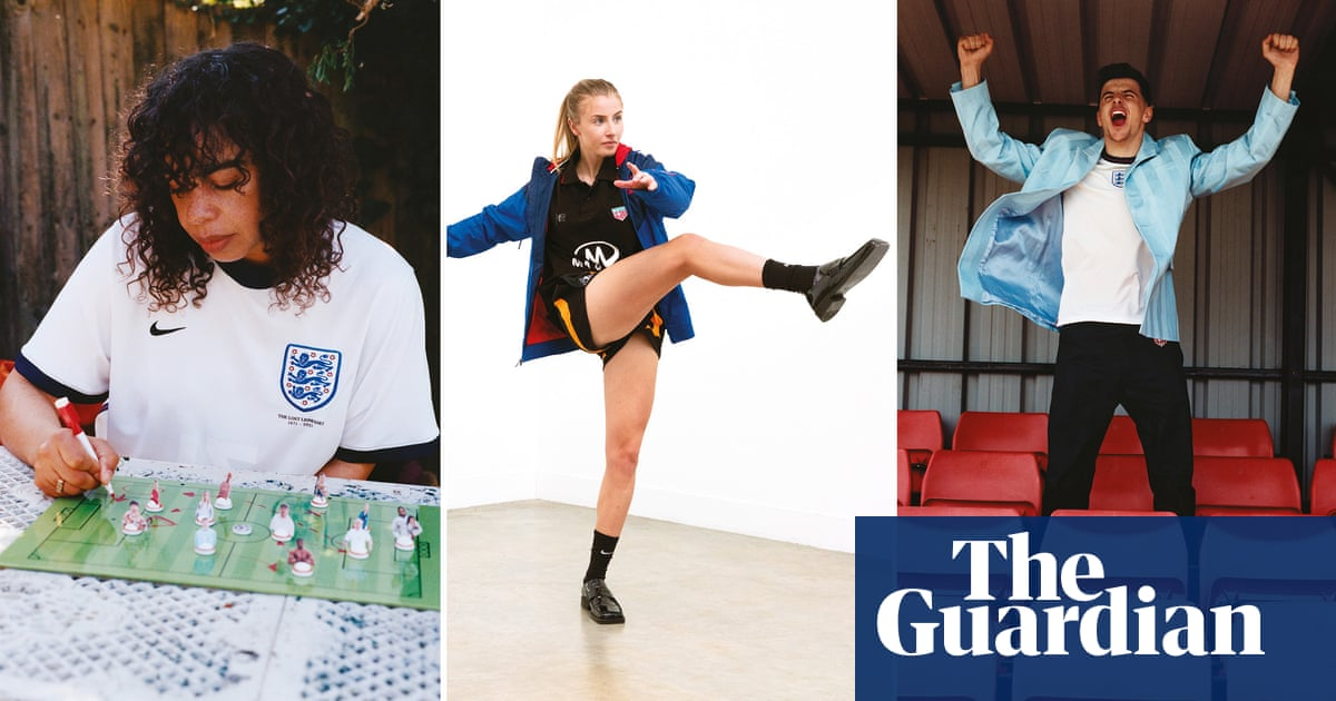 She scores! A first look at Martine Rose's Euro 2020 shirt