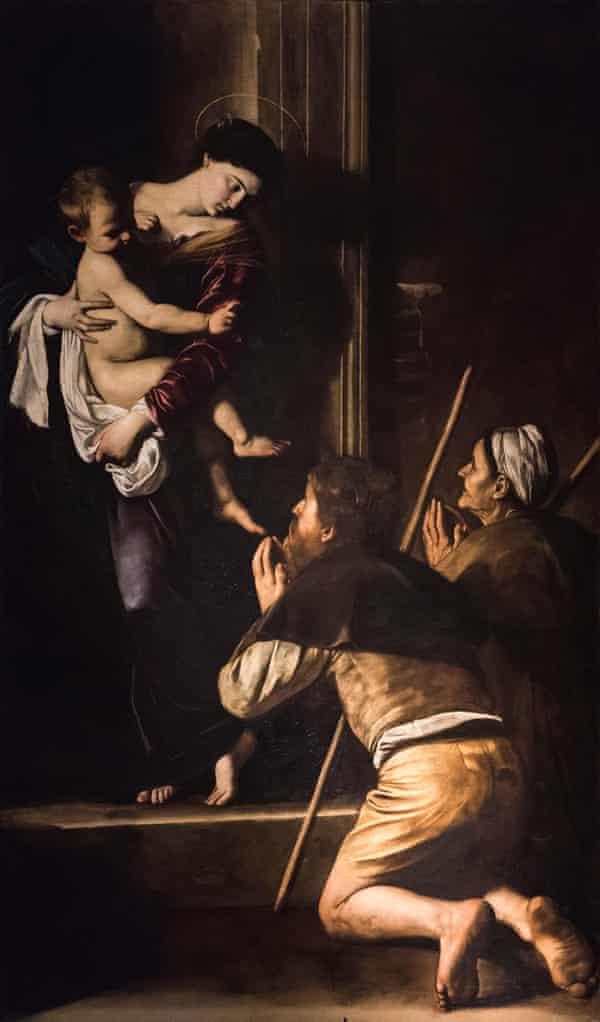 Madonna di Loreto (1604-06) by Caravaggio.