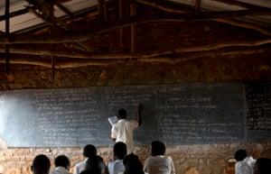 The re-education centre in Burundi