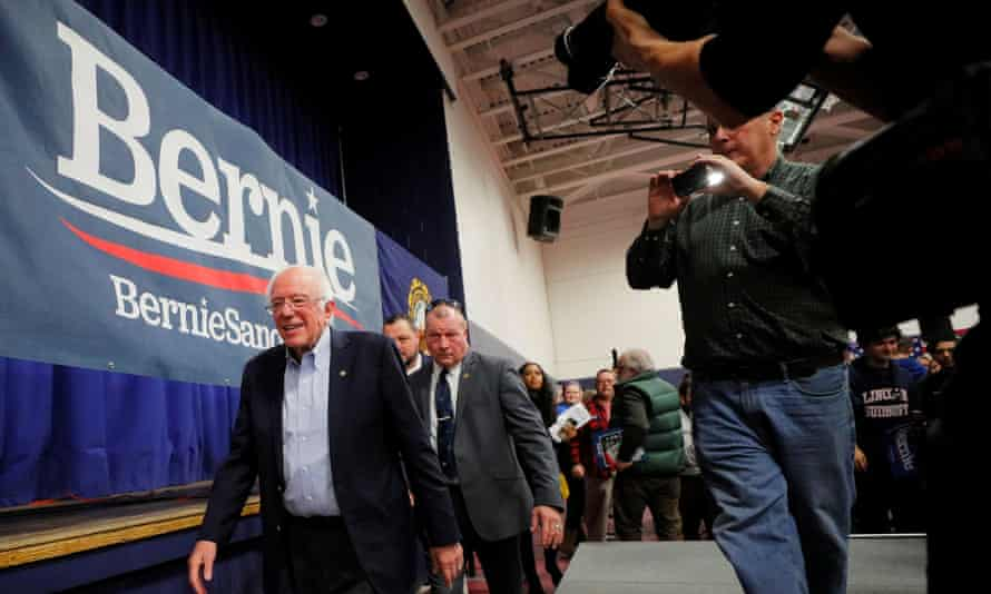 Bernie Sanders will now fear for his campaign.
