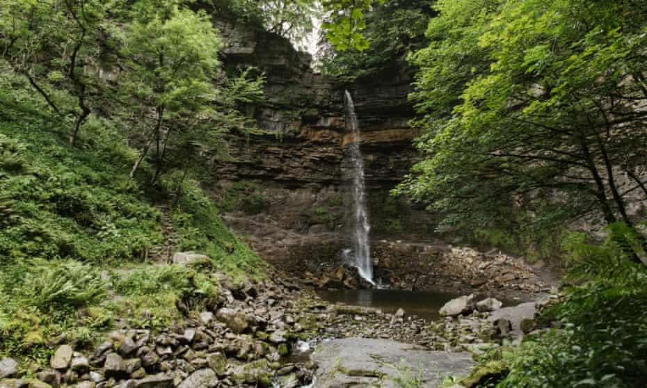 Hardraw Force – the highest single drop waterfall in England.