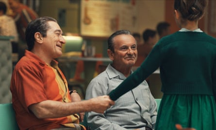 'Bob said it was an amazing part for Joe' … De Niro with Pesci in The Irishman.