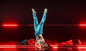 Rouge by Marion Motin, performed by Rambert.