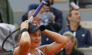 Barty wins the final.