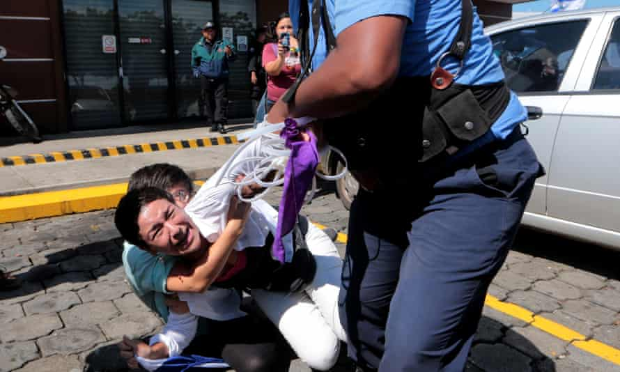 In Nicaragua at least 322 people have been killed and 2,000 others injured – mostly by the police and pro-government paramilitary groups