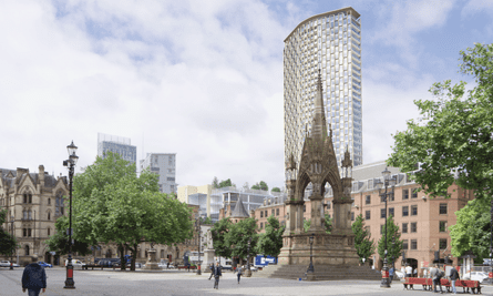 Ryan Giggs and Gary Nevill's proposed St Michael's development in Manchester city centre.