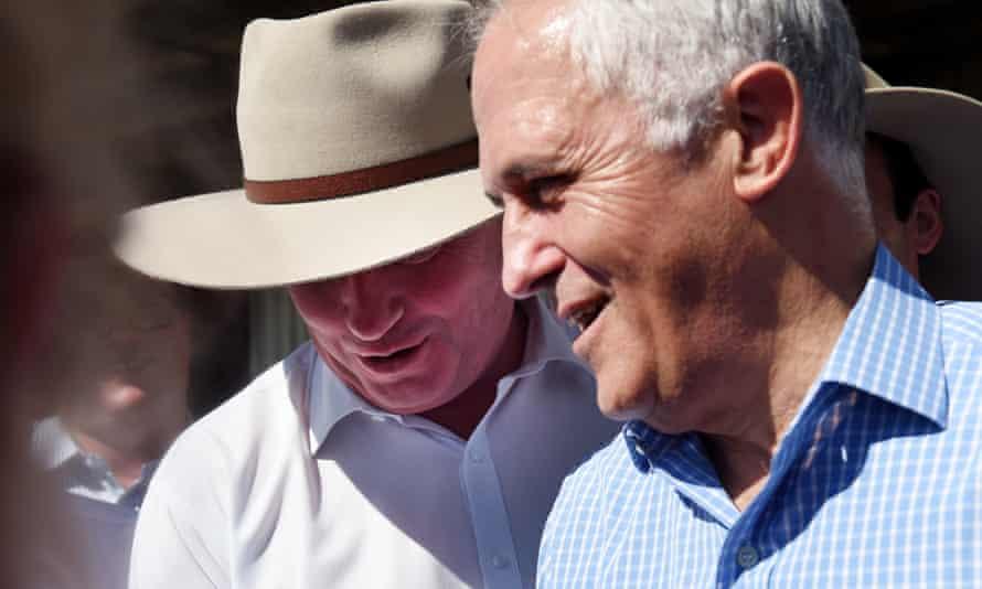 Barnaby Joyce and Malcolm Turnbull