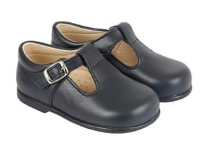 Black t-bar shoes by Start Rite