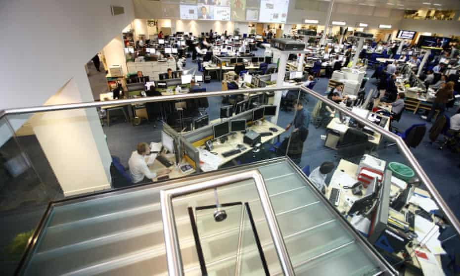 The Daily Telegraph newsroom