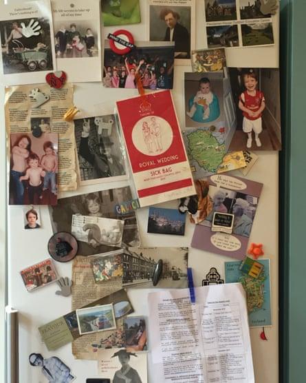 Lucie Saint's fridge