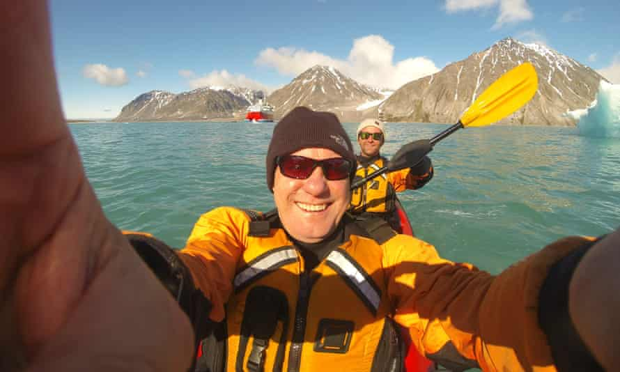 Neal Maxwell in the Arctic