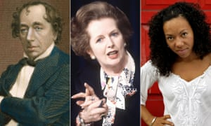 Benjamin Disraeli, Margaret Thatcher and Oona King