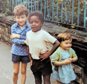 'I loved life': Lemn Sissay with friends in the days when he believed his name was Norman