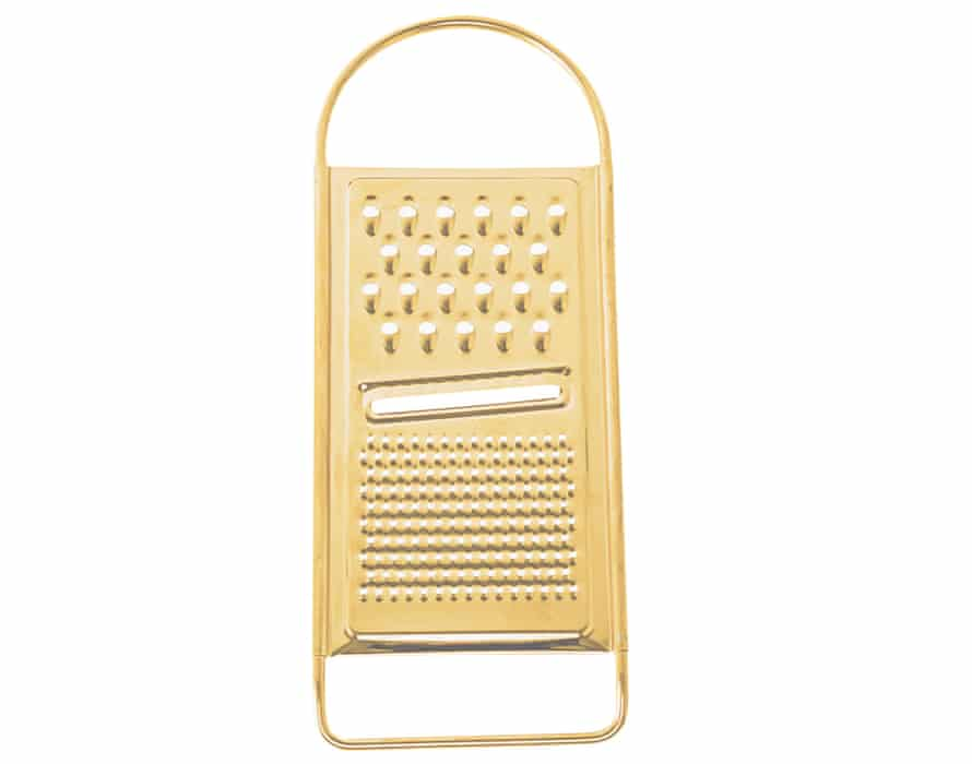 Bloomingville golden flat grater